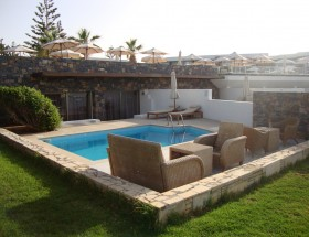 Private Pool Suite outdoor area